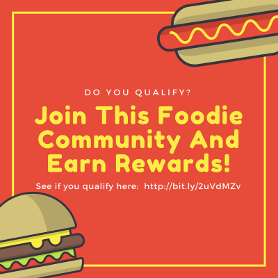 Join This Foodie Community And Earn Rewards! Do You Qualify? - Shop With Me Mama