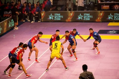 In Pictures: India's Pro Kabaddi League Teams Grapple for ...