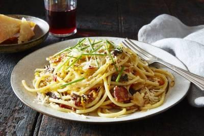 Recipe: Spaghetti With Bacon, Orange and Prunes - WSJ