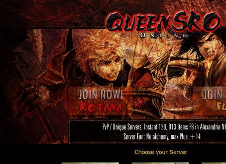 Queen SRO   Fun   Cap 120   Silkroad Online Private Servers Top 100 list Queen SRO   Fun