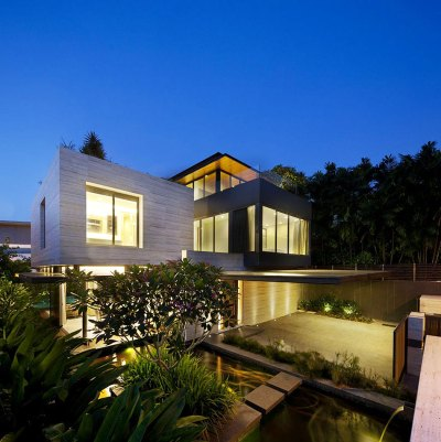 Travertine Dream House - Wallflower Architecture + Design ...