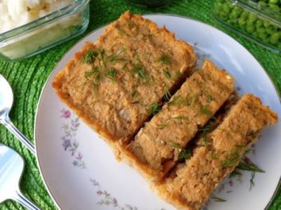 Weight Watchers Salmon-Dill Loaf • Simple Nourished Living