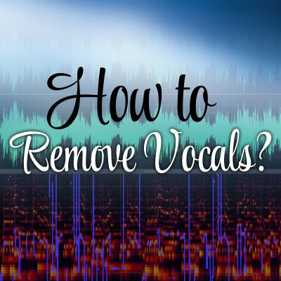 How to remove vocals from a song to upload it as background track to Smule - The Smule Sing! app ...