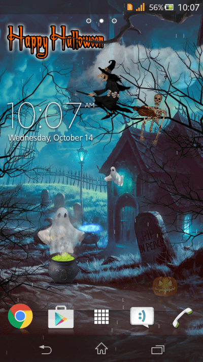 [Free] Halloween Live Wallpaper | Android Development and Hacking