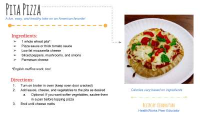 Healthy Eating Pita Pizza | Healthy Penn State