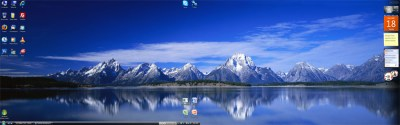 Dual Screen Wallpaper In Vista | Skatter