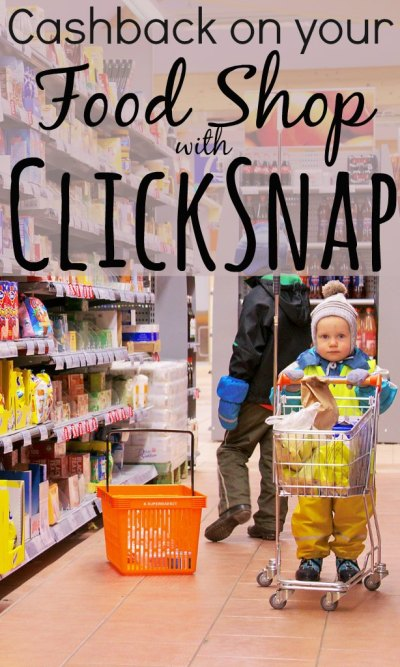 Cashback on your Food Shop with ClickSnap