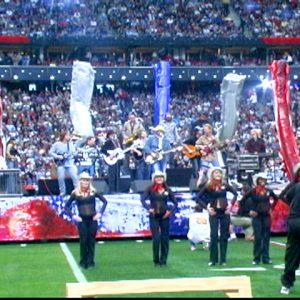 SUPER BOWL 38 PRE-GAME SHOW