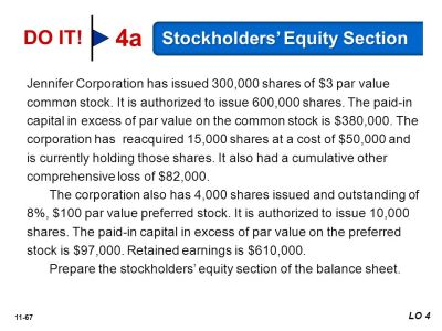 11 Reporting and Analyzing Stockholders' Equity - ppt download