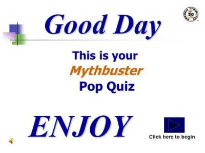Good Day This is your Reenty Mythbuster Training ENJOY Click here to begin. - ppt download