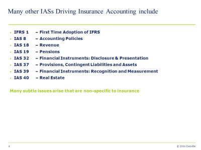Application of IAS/IFRS to Life Insurance – Some practical issues - ppt video online download
