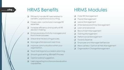HRMS Human Resource Management System. - ppt video online download
