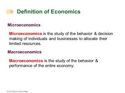 Basic Concepts of Economics - ppt download