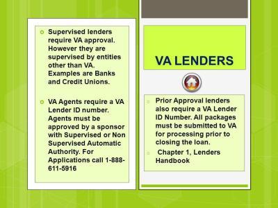Department of Veterans Affairs Puerto Rico Lender Training - ppt video online download