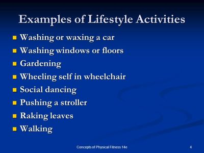 Concepts of Fitness & Wellness 7e - ppt video online download