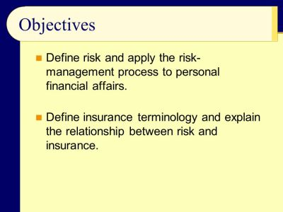 Chapter 10: Risk Management and Property/Liability Insurance - ppt video online download