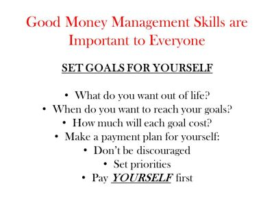 BETTER MONEY MANAGEMENT - ppt download