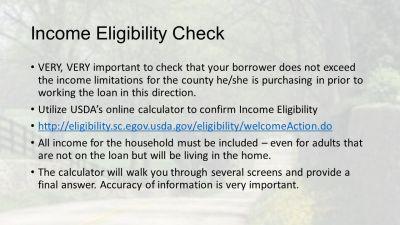 USDA Rural Development Mortgage Training - ppt download