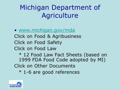 Blueprint for Developing a School Food Safety Program - ppt video online download