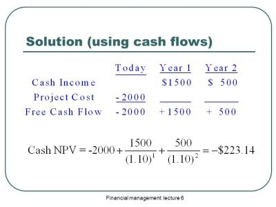 Other Investment Criteria and Free Cash Flows in Finance - ppt video online download