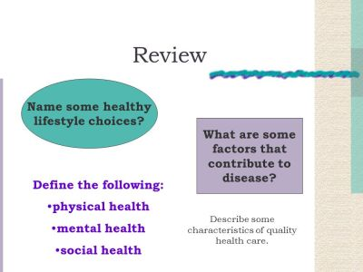 Chapter 1 Making Wellness a Lifestyle - ppt download