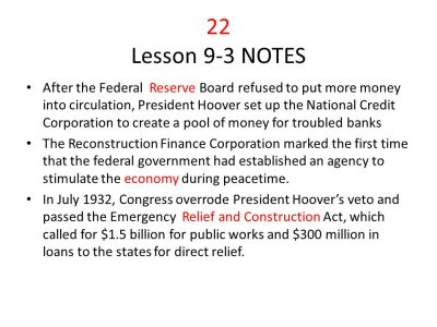 Great Depression Chapter ppt video online download
