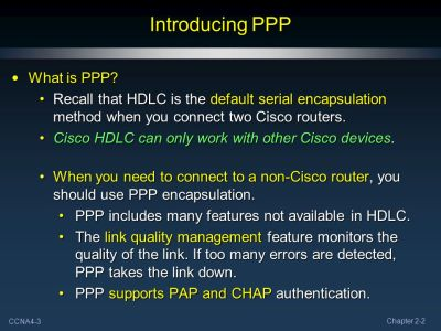 Point-to-Point Protocol (PPP) Part II - ppt video online download