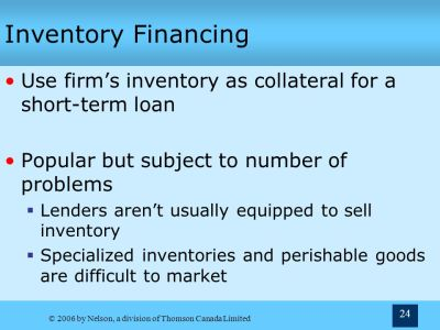 5 Sources of Short-Term Financing Chapter Terry Fegarty Seneca College - ppt video online download