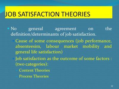 JOB SATISFACTION – TOPIC 5 - ppt video online download