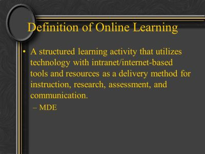 MI Online Learning Experience - ppt video online download