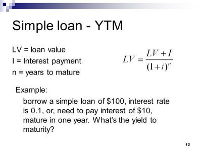 Lecture 7: Measuring interest rate - ppt video online download