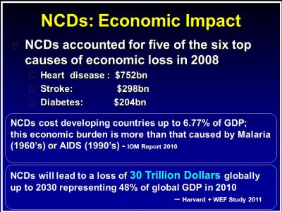 Vision in a World of NCDs - ppt video online download