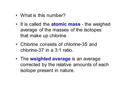 Mass and Moles of a Substance - ppt download