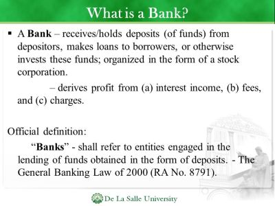 Introduction to Banking - ppt download