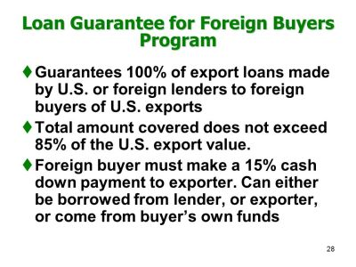 CHAPTER XXXIV FINANCING EXPORTS - ppt download