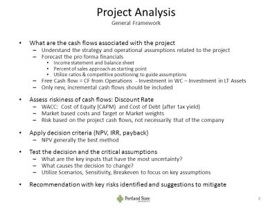 Agenda Capital Budgeting Decision Frameworks. - ppt video ...