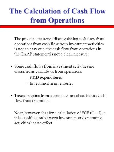 The Analysis of the Cash Flow Statement - ppt video online ...
