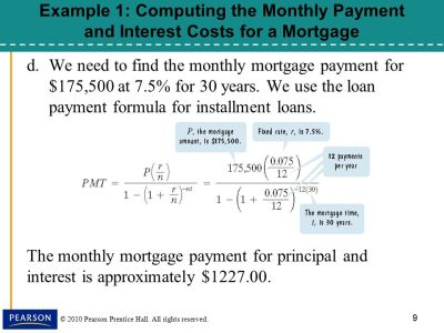 §8.5, Installment Loans, Amortization, and Credit Cards - ppt download