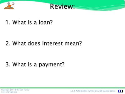 Personal Finance: Automobile Payments & Maintenance - ppt download