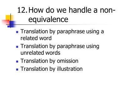 TRANSLATION THEORY Dr. Mashadi Said - ppt video online download