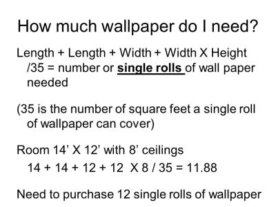 Objective 4.04: RECOGNIZE wall coverings - ppt download