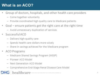 ACOs – Past, Present and Future - ppt video online download