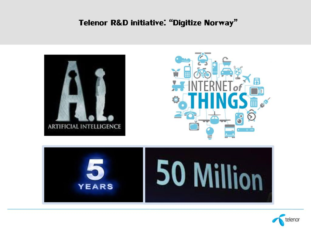 Telenor contribution to Digital Transformation of Norway   ppt download 10 Telenor
