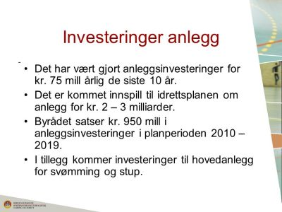 Idrettsplan for Bergen kommune - ppt laste ned