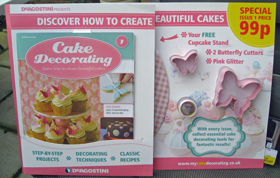 Cake Decorating   Snail Mail Reviews Etc  Cake Decorating  by DeAgostini  was a big hit and shops everywhere  repeatedly ran out of issues  And I must admit  for the price  I bought  several issue 1 s