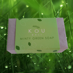 KOU – Mint Green Soap 80g