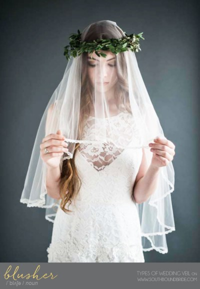 Different Types of Wedding Veil | SouthBound Bride