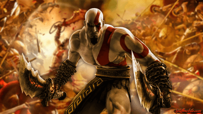 Free Wicked Cool God of War Wallpaper