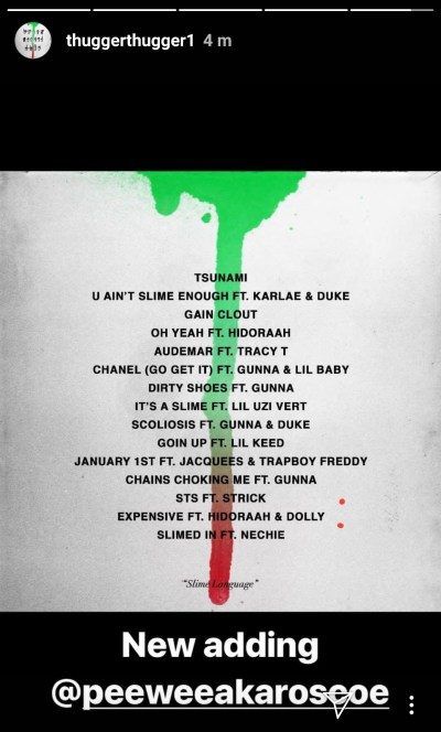 Young Thug Reveals