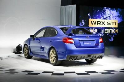 2015 Subaru WRX STI Unleashed for 2014 Detroit Auto Show - Automobile Magazine